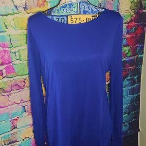 Ann Taylor blue top